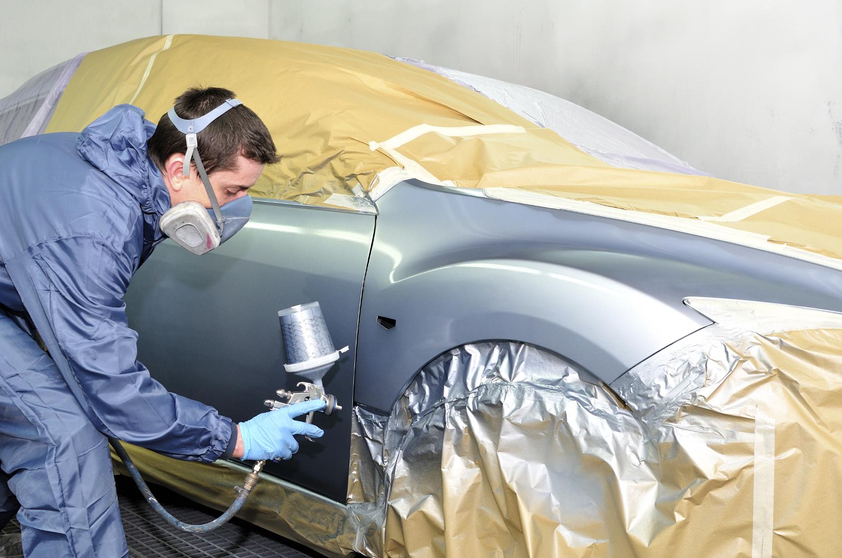 Auto-body-paint-job